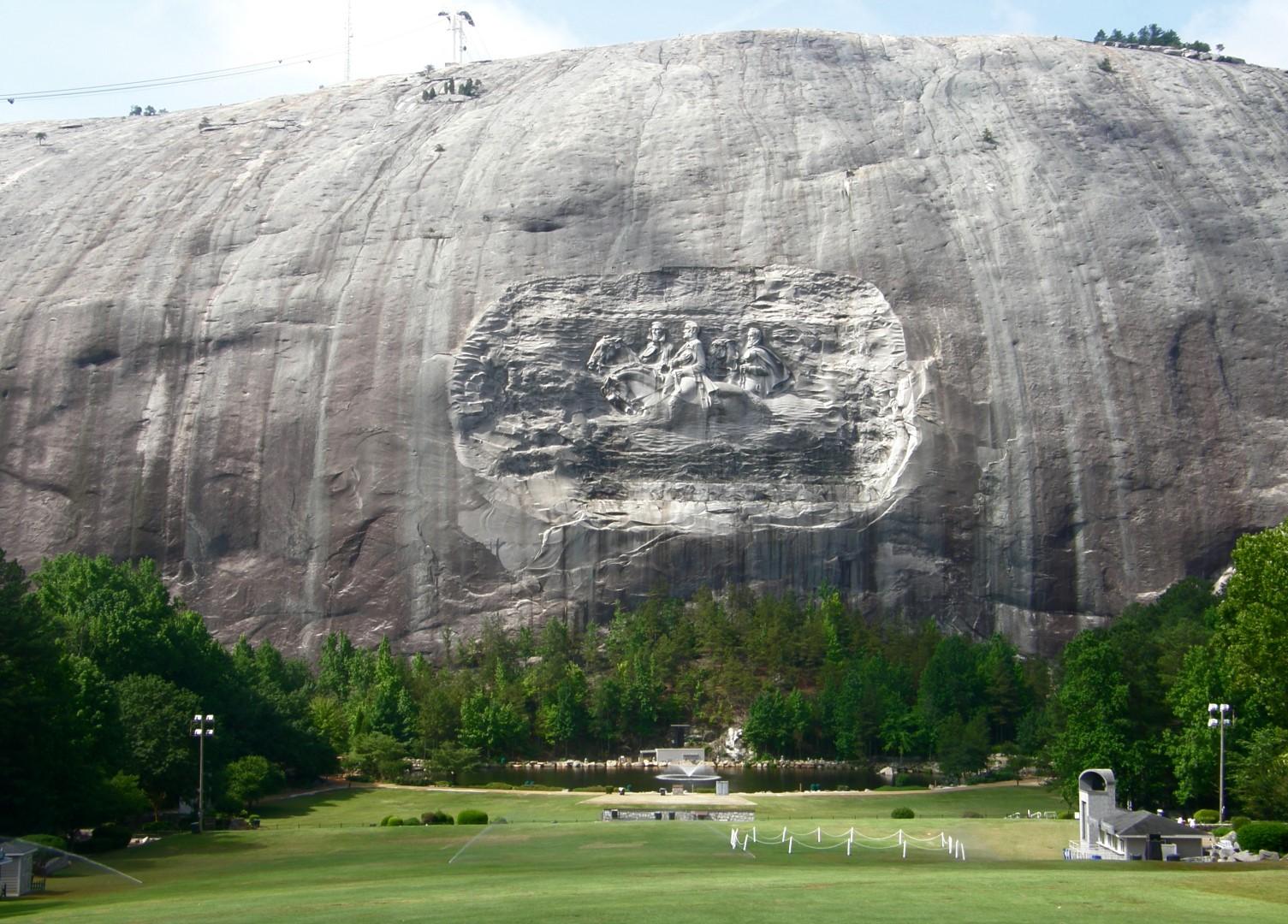 Stone Mountain Topo Map Dekalb County Ga Stone Mountain
