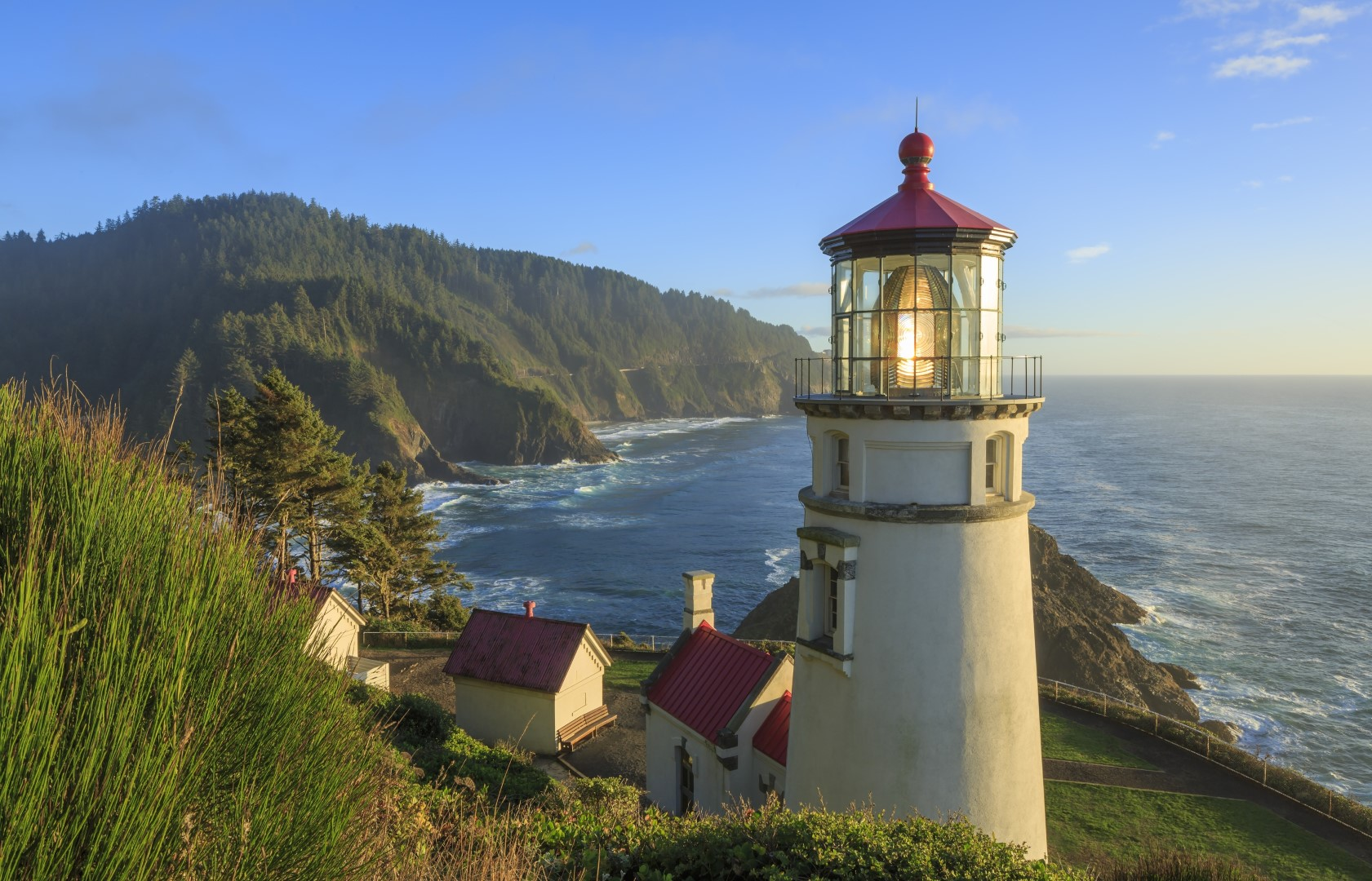 Lighthouses In Oregon Map.Lighthouses Of Oregon See The Map And Photos